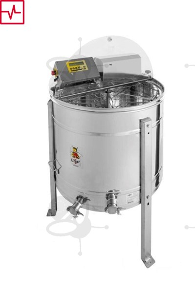 Picture of 4-Frames Self-turning extractor, 180W motor, programautomatic, barrel 76 cm, frames 28,6 x 48 cm