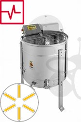 Picture of 6-Frames Self-turning extractor, motor 180W, programautomatic, frames 26,5 x 48 cm