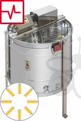 Picture of 8-Frames Self-turning extractor, motor 370W, programautomatic, barrel 95 cm, frames 26,5 x 48 cm