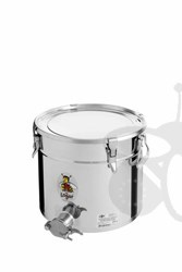 Picture of Honey tank 25 kg, airtight lid, stainless steel gate