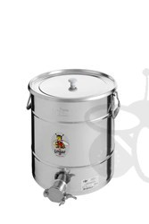 Picture of Honey tank 35 kg, stainless steel gate