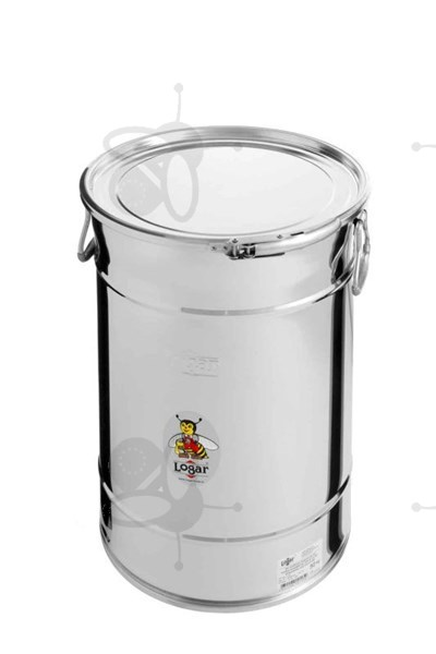 Picture of Stackable storage tank 50 kg with airtight lid, stainless steel