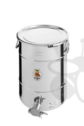 Picture of Honey tank 50 kg, airtight lid, stainless steel gate