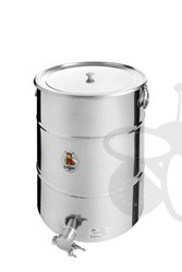 Picture of Honey tank 100 kg, stainless steel gate