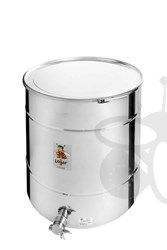 Picture of Honey tank 300 kg, airtight lid, stainless steel gate