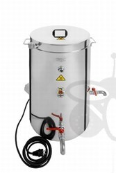 Picture of Double walled waxtank, capacity 75l