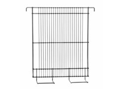 Tangential screen for radial basket, stainless steel