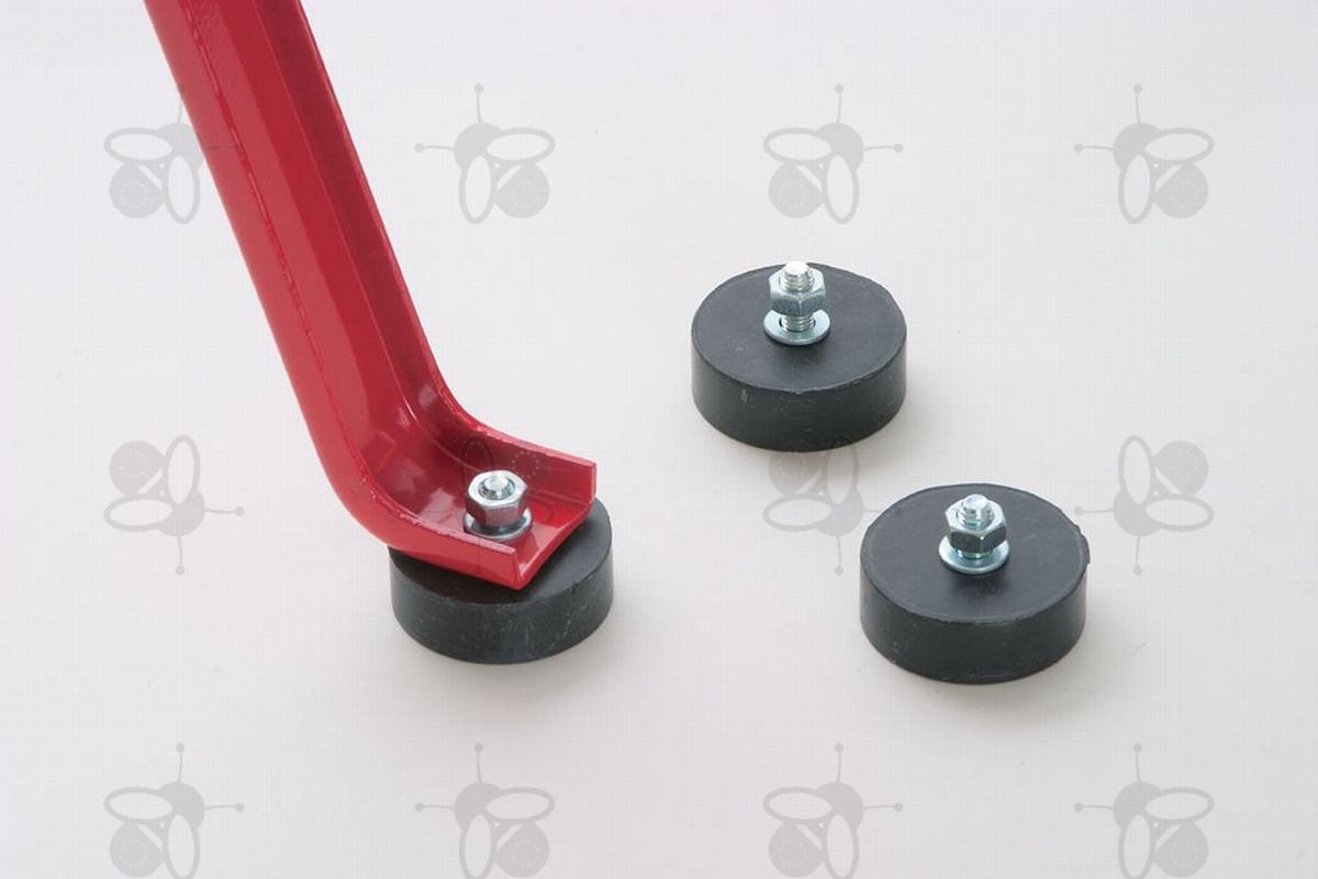 gummif sse f r honigschleuder mit schraube m8 7754 honigschleudern logar. Black Bedroom Furniture Sets. Home Design Ideas