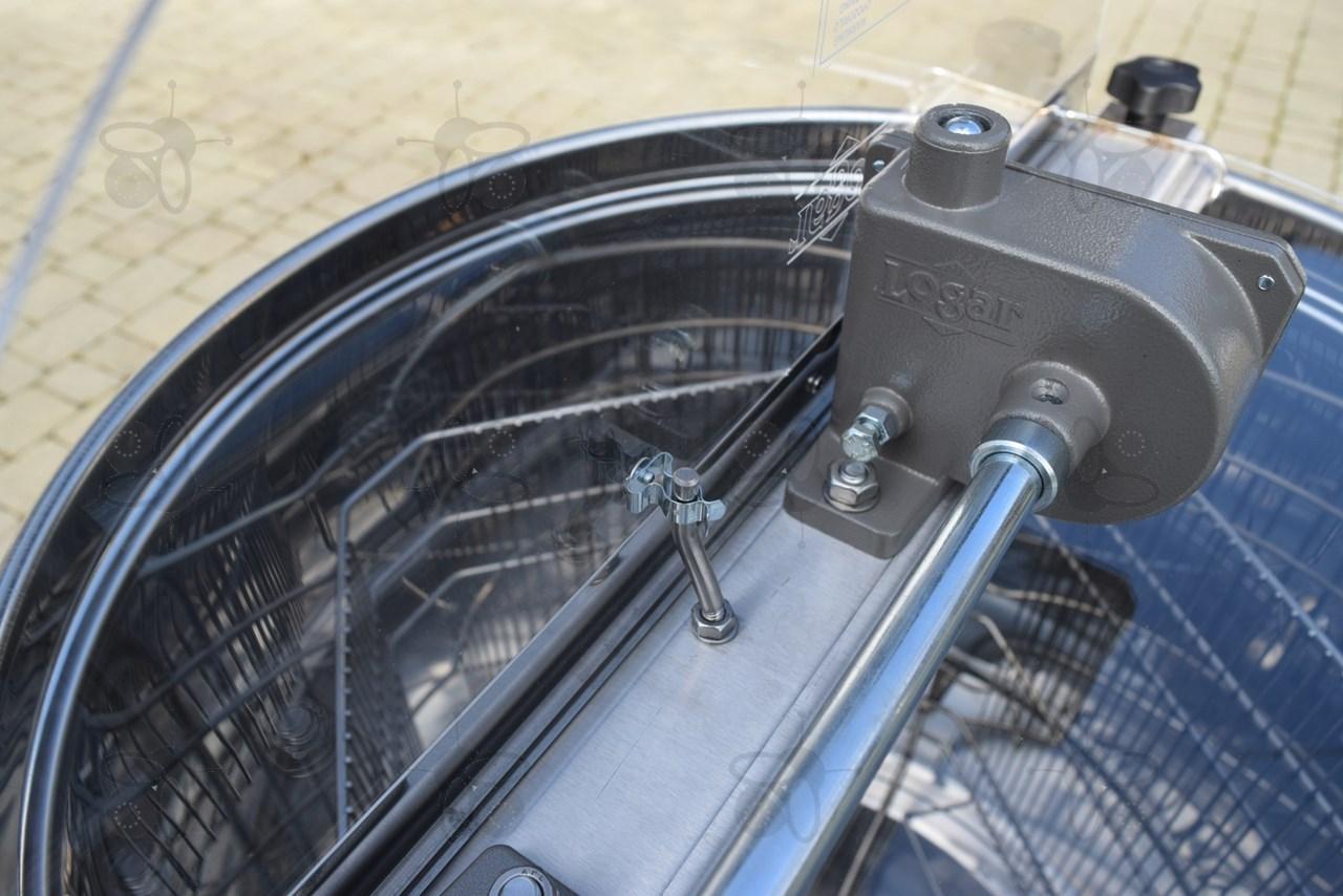 4 waben schleuder handantrieb kessel 63 cm ohne mittelachse r hmchen 37 x 48 cm universal. Black Bedroom Furniture Sets. Home Design Ideas