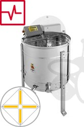 Picture of 4-Frames Self-turning extractor, 180W motor, programautomatic, barrel 76 cm, frames 26,5 x 48 cm