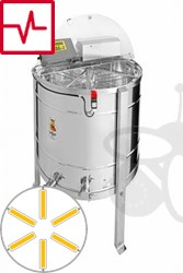 Picture of 6-Frames Self-turning extractor, motor 250W, programautomatic, barrel 82 cm, frames 26,5 x 48 cm