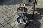 Eimer für Wachs aus Edelstahl (11 Liter)