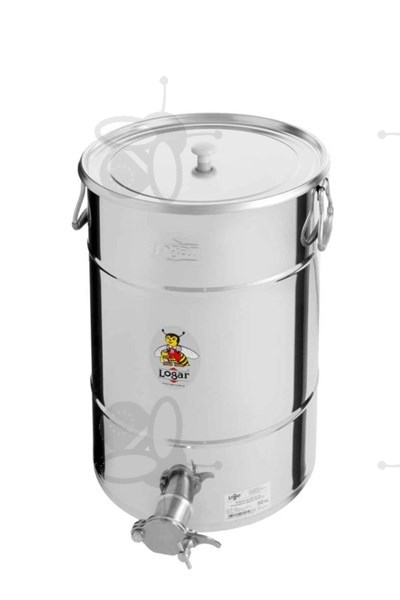 Picture of Honey tank 50 kg, stainless steel gate