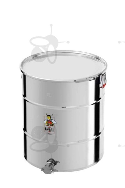 Picture of Honey tank 170 kg, airtight lid, stainless steel gate 6/4""