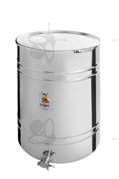 Picture of Honey tank 430 kg, airtight lid, stainless steel gate