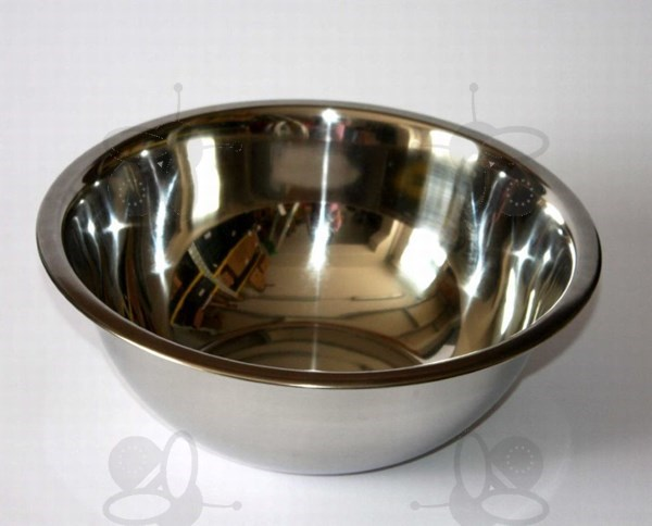 Picture of Wax bowl 3,2 l, Ø 26 cm, stainless steel