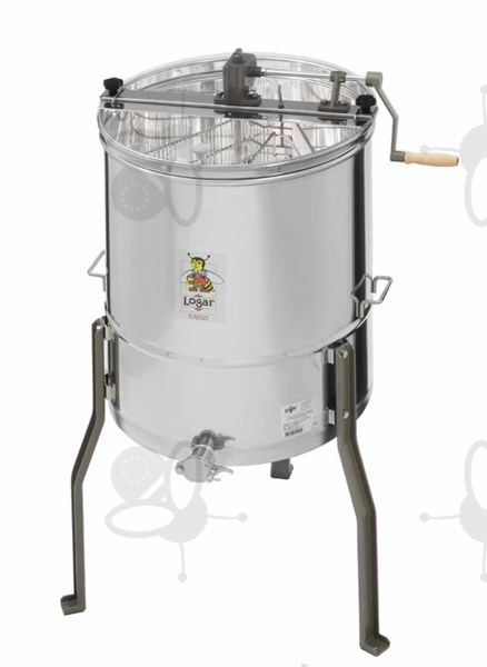 Picture of 3-Frames-Extractor, tangential, manual, barrel 52 cm, frames 37 x 48 cm, universal