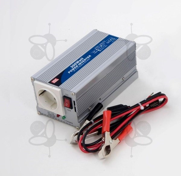 Photo de Convertisseur 12V DC-230V AC, 300W