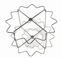 Picture of 12 frames basket, radial, diameter 63 cm, Zander, stainless steel