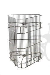 Picture of 3 frames basket, tangential, 26x41 cm, diameter 38 cm, stainless steel