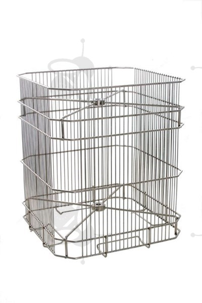 Picture of 4 frames basket, tangential, 30x41 cm, diameter 52 cm, stainless steel