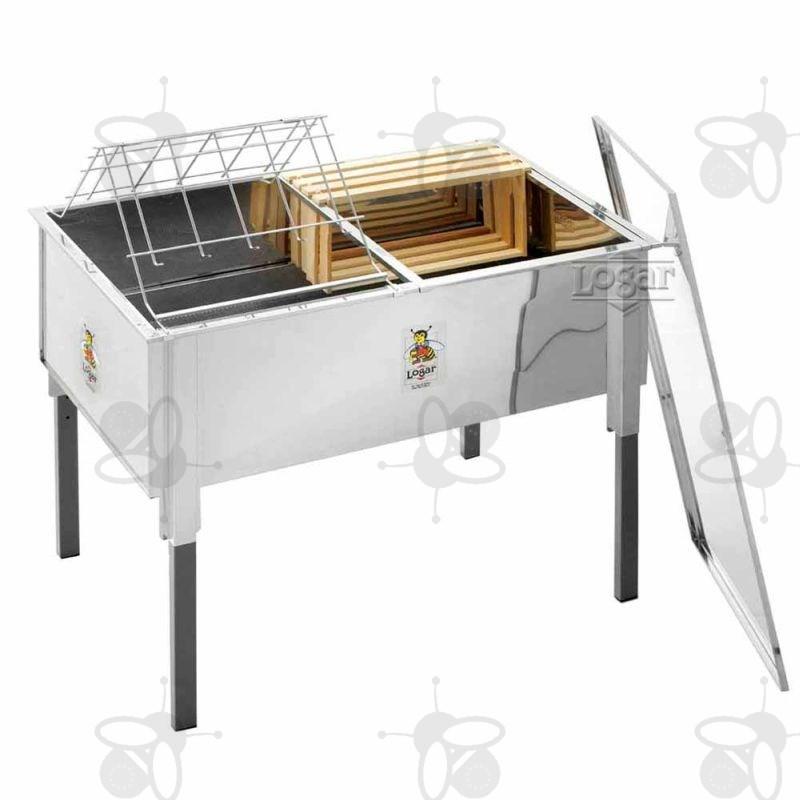 entdecklungswanne 100 cm mit deckel aus edelstahl 5 verschiedene arbeitsh hen 8039. Black Bedroom Furniture Sets. Home Design Ideas
