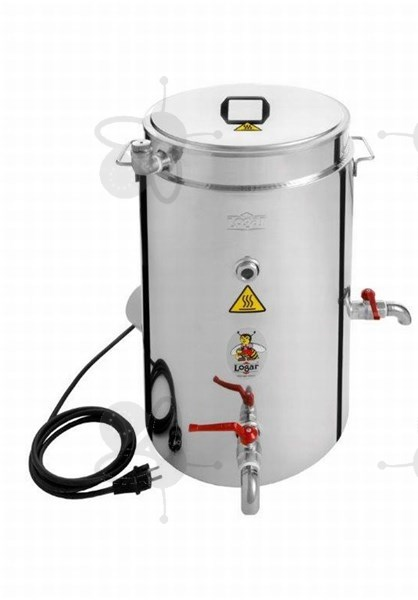 Picture of Doublewalled waxtank capacity 35 l