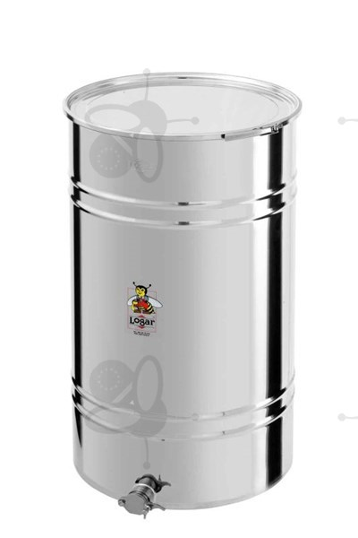 Picture of Honey tank 280 kg, airtight lid, stainless steel gate 6/4""