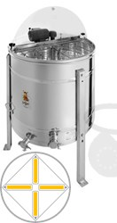 Picture of 4-Frames Self-turning extractor, motor 110W, barrel 76 cm, frames 28,6 x 48 cm