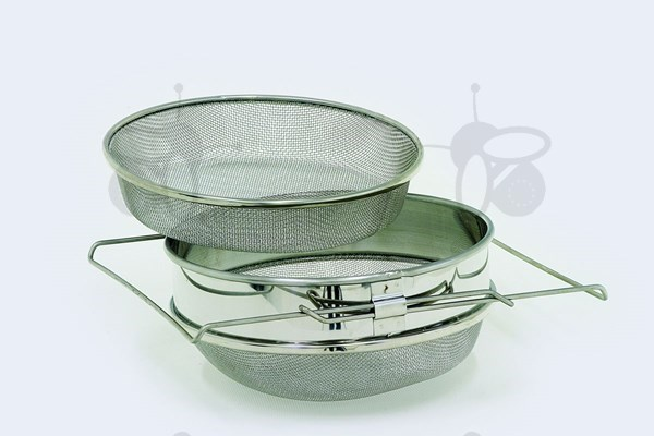 Picture of Double stainless steel strainer, coarse, o 24 cm