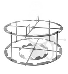 Picture of 12 frames basket, radial, diameter 63 cm, stainless steel