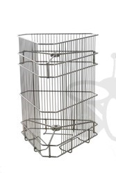 Picture of 3 frames basket, tangential, 37x41 cm, diameter 52 cm, stainless steel