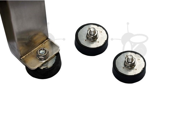 Picture of Rubber feet for extractor with screw M10